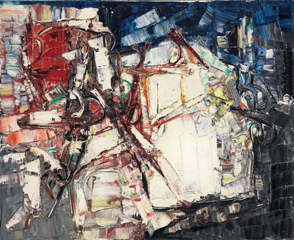 Jean Paul Riopelle - Épaves