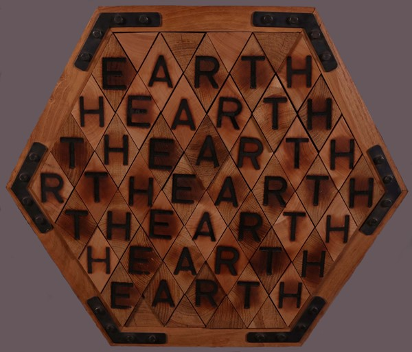 Joe Tilson : Earthearth  (1987)  - Assemblaggio in legno, multiplo, es. VIII/X - Auction N.192 , CONTEMPORARY ART AND PRINTS - BUY NOW - Casa d'aste Farsettiarte