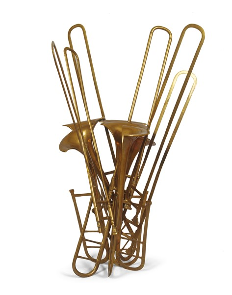 Arman : Tromboni  (1986)  - Scultura in bronzo, es. EA 1/2 - Auction N.190  - I, CONTEMPORARY ART - Casa d'aste Farsettiarte