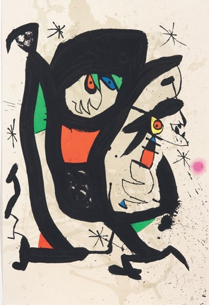Joan Miró - Young artists '73