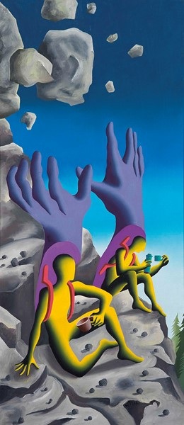 Mark Kostabi - Boulder Holder