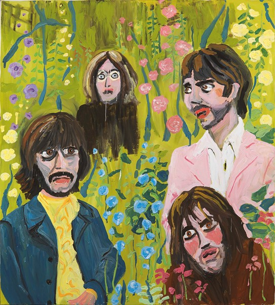 Stella Vine - The  Beatles in the Hollyhocks