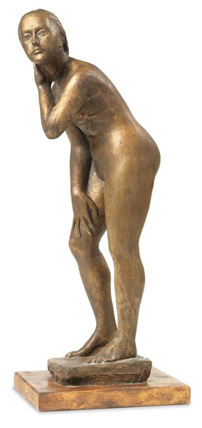 Quinto Martini : Nudo  ((1937))  - Scultura in bronzo - Auction N.189  - II, XIX AND XX CENTURY PAINTINGS AND SCULPTURES - Casa d'aste Farsettiarte
