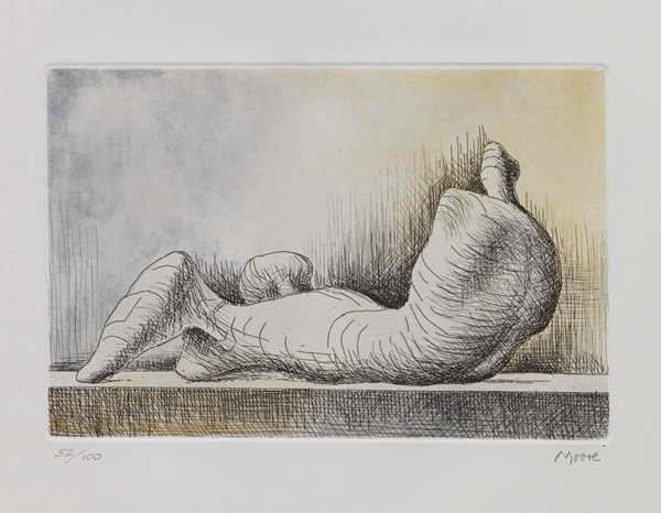 Henry Moore - Reclining Figure Back