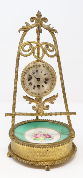 Orologio in bronzo  (XX secolo.)  - Auction N.191  - I, TIME AUCTION - SILVERWARES, PORCELAINS AND FORNITURES - Casa d'aste Farsettiarte