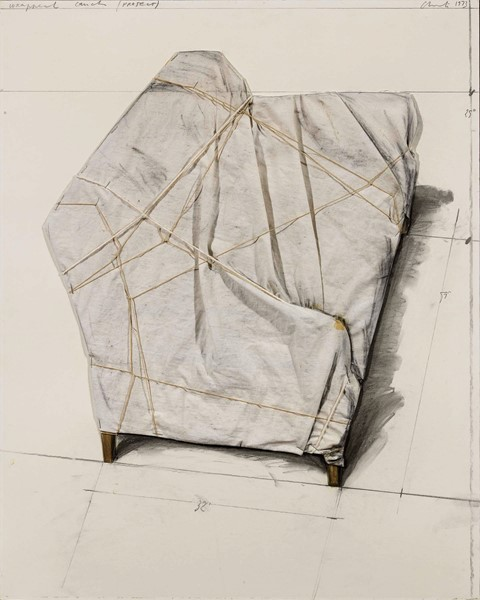 Christo - Wrapped Couch (Project)