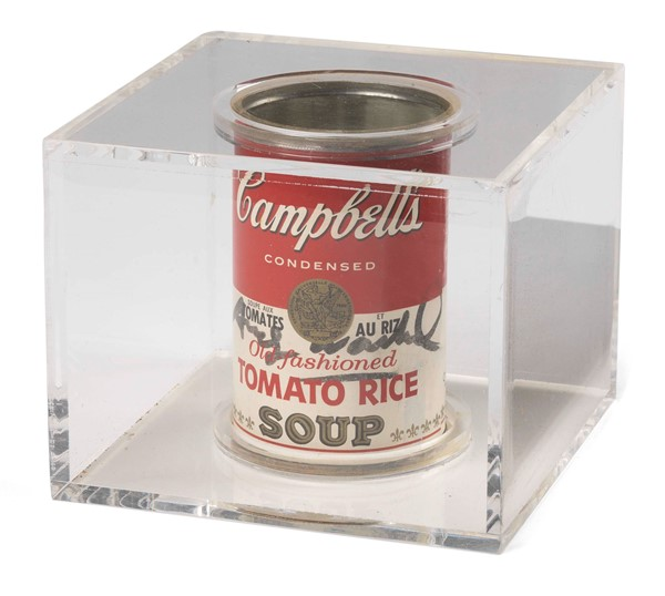 Andy Warhol - Campbell's Tomato Rice Soup