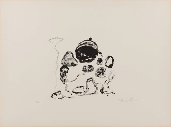 Philip Guston - Untitled - Litografia, es. 18/25 - cm. 56,8x76,3 (carta)