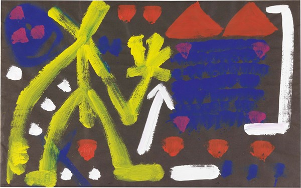 A.R. Penck - Untitled