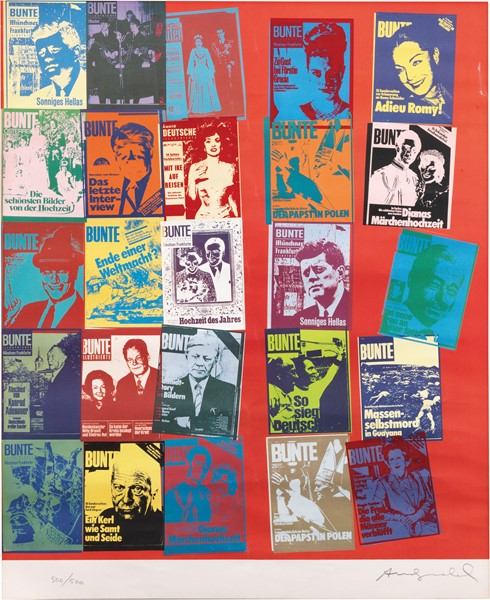 Andy Warhol - Magazine and History