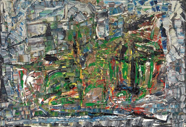 Jean Paul Riopelle - Sapinage