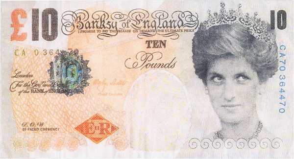 Banksy - Di-faced Tenners (Banksy of England)