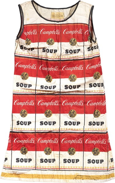 Andy Warhol - The souper dress