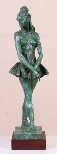 Francesco Messina : Ballerina  - Scultura in bronzo, multiplo, es. 100/150 - Auction N.190  - I, CONTEMPORARY ART - Casa d'aste Farsettiarte