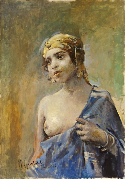 Romualdo Locatelli - Ragazza tunisina