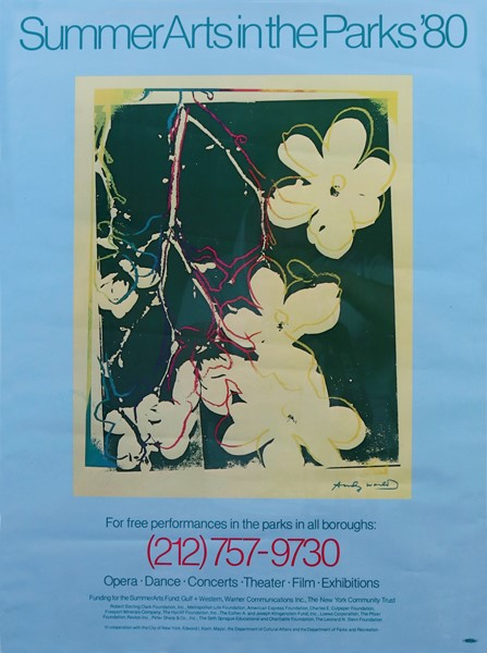 Andy Warhol - Summer Arts in the Parks '80