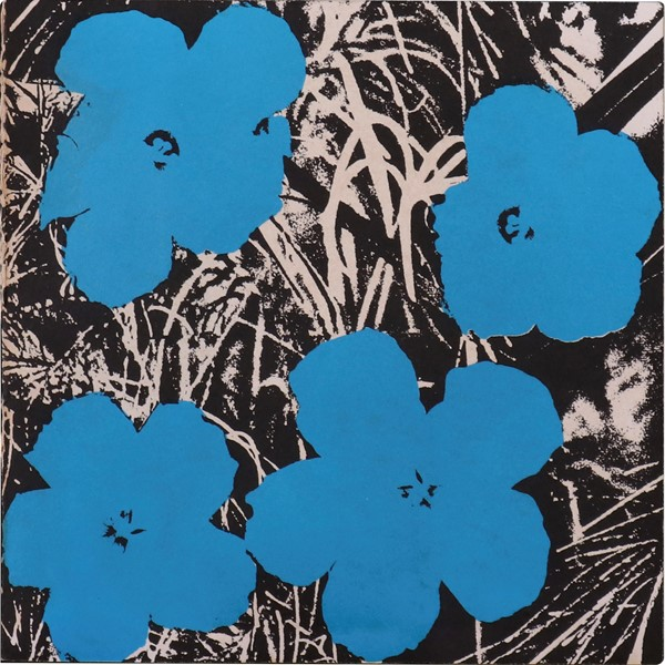 Andy Warhol : Flowers  (1965)  - Biglietto d'invito - Auction N.195  - I, MODERN AND CONTEMPORARY ART - Casa d'aste Farsettiarte