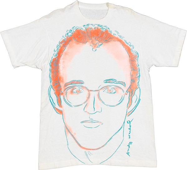 Andy Warhol - Keith Haring Portrait