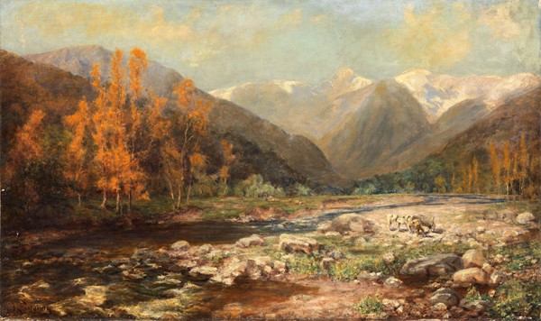 Joseph Langsdale Pickering - The River's Bed