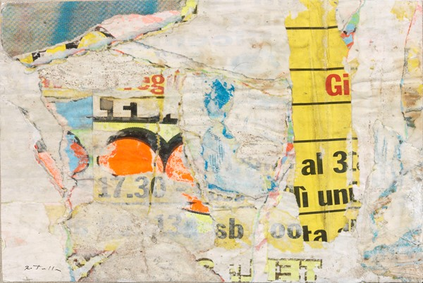 Mimmo Rotella : 17:30  (1998)  - Décollage su tela - Auction N.195  - I, MODERN AND CONTEMPORARY ART - Casa d'aste Farsettiarte