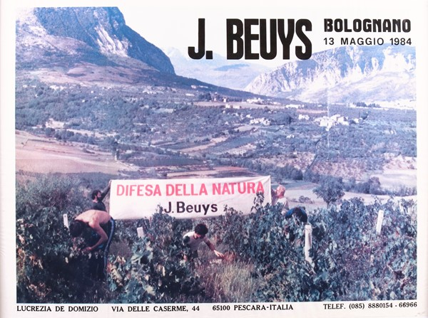 Joseph Beuys : Difesa della natura  (1984)  - Stampa offset - Auction N.195  - I, MODERN AND CONTEMPORARY ART - Casa d'aste Farsettiarte