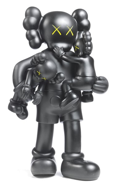 Kaws - Clean Slate Black
