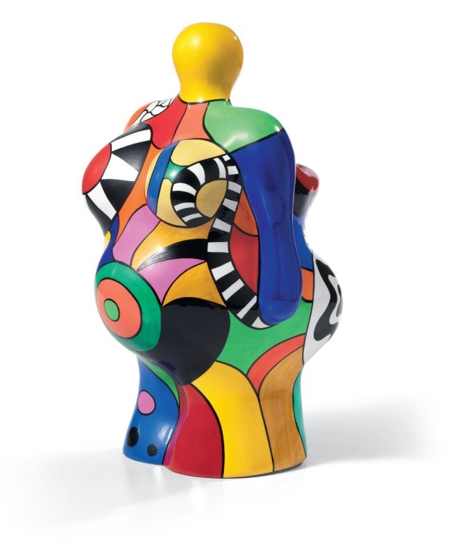 niki de saint phalle nana vase scultura in resina di poliestere multiplo es 23 150 cm. Black Bedroom Furniture Sets. Home Design Ideas